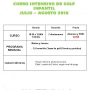 CAMPAMENTO Intensivo Junior 2016_Bgolf