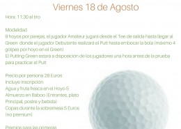 I TORNEO FIRST GOLF EXPERIENCE