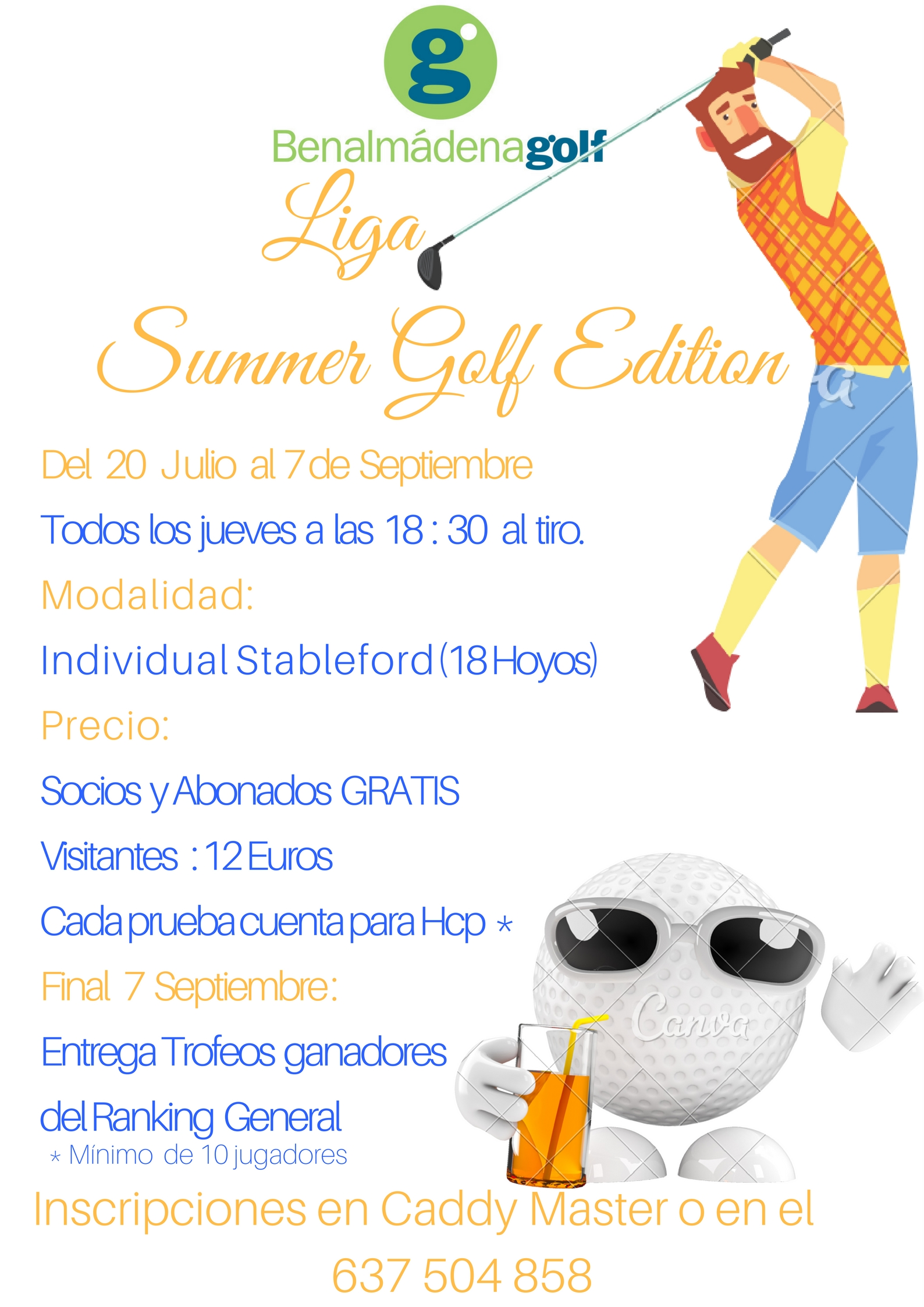 LIGA SUMMER GOLF EDITION